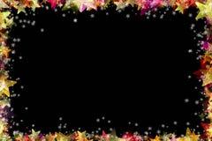 Underbar design för julrambakgrund Royaltyfri Fotografi