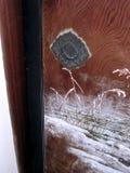 Underbar japansk glidningsdörr i Japan arkivfoton