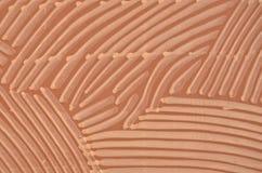 Underbar linje modell på den indiska granitstenen Arkivfoto