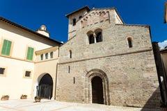 Underbar medeltida kyrka Fotografering för Bildbyråer