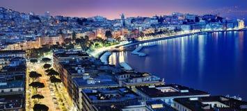 Underbar Naples panoramautsikt Royaltyfri Bild