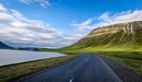 Underbar natur av Island Arkivfoto