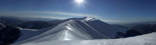 underbar panorama Arkivbild
