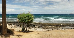 Underbar Seascape av havet Arkivfoton
