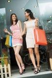 Underbar shopping Arkivfoton