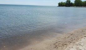underbar strand Royaltyfria Foton