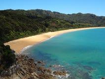 Underbar strand i den abel tasmannationalparken fotografering för bildbyråer