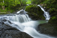 Underbar vattenfall Royaltyfri Fotografi