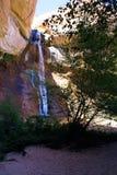 Underbara vattenfall Arkivbild