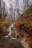 Underbara vattenfall arkivfoton