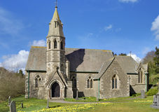 Underbarrow church in Spring Royalty Free Stock Photo