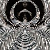Underbart abstrakt begrepp illustrerade den glass designen Royaltyfria Bilder