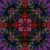 Underbart abstrakt begrepp illustrerat exponeringsglas Royaltyfria Bilder