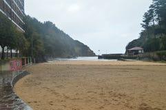 Underbart fototillfångatagande av den storartade stranden av Ea Naturlandskaplopp royaltyfri fotografi