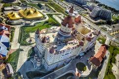 Underbart hotell i Sochi Arkivfoto