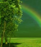 underbart landskap Fotografering för Bildbyråer