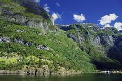Underbart landskap i Lysefjord Fotografering för Bildbyråer