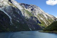 Underbart landskap i Lysefjord Arkivbilder