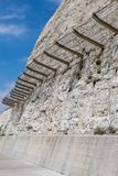 The Undercliff Path at Brighton royalty free stock photography