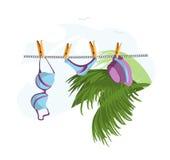 underclothes праздника Бесплатная Иллюстрация