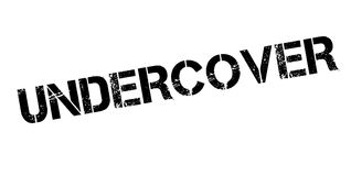 Undercover rubber stamp Stock Photo