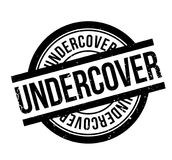 Undercover rubber stamp Royalty Free Stock Photo