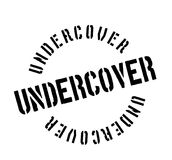 Undercover rubber stamp Stock Photography
