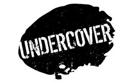 Undercover rubber stamp Royalty Free Stock Photography