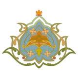 Arabic arabesque decorative ornamental illustration design royalty free illustration