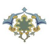 Arabic arabesque decorative ornamental illustration design vector illustration