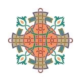 Russian celtic Oriental ornament - Illustration designs stock illustration