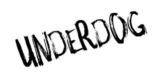 Underdog rubber stamp Royalty Free Stock Photos