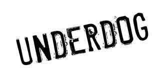Underdog rubber stamp Stock Images