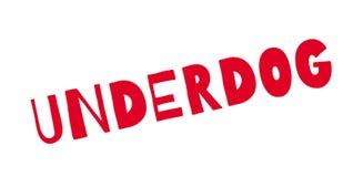 Underdog rubber stamp Stock Image