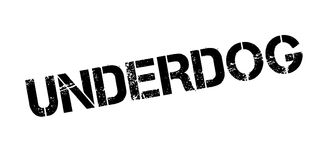 Underdog rubber stamp Royalty Free Stock Image