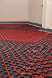 Underfloor heating Royalty Free Stock Photography
