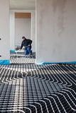 Underfloor Heating And Cooling Royalty Free Stock Images