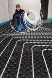 Underfloor heating and cooling Stock Photography