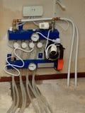 Underfloor heating regulation unit Royalty Free Stock Photos