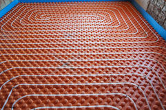 Underfloor heating Royalty Free Stock Photos