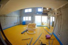 Underfloor heating Stock Images