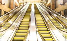 Undergound amarelo Imagem de Stock