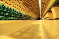 Underground. Shot of the underground in Prague Stock Photography