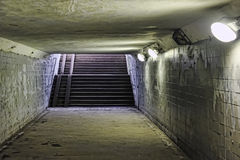 Underground. In the horizontal composition Royalty Free Stock Image