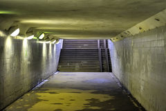 Underground. In the horizontal compsition Royalty Free Stock Image