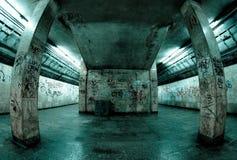 Underground. Station in Katowice, Poland Royalty Free Stock Photo