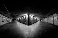 Underground. Station in Katowice, Poland Royalty Free Stock Photography