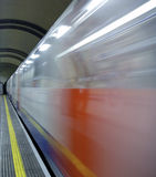Underground. A picture of the underground transportation Stock Photography