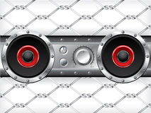 Underground audio deck Royalty Free Stock Photo