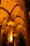 Underground Basilica Cistern Stock Images